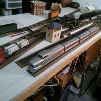 HO Scale Rock Island Aero Train w/ DCC