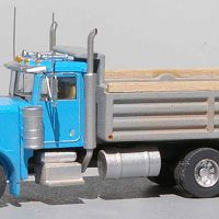 Trainworx Peterbilt 379 With Wiking Dump Bed