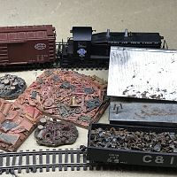 Small/Basic Scrap Yard on HO Switching Layout Photo Mar 13, 12 49 15 AM