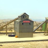 Barite crusher / loader, Battle Mountain