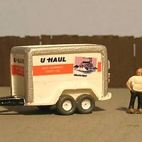 5x10 U-Haul Trailer - Mississippi
