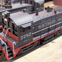 2nd N Scale SP SW1200 Build