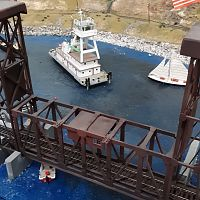 Drawbridge with Tug Boat CMR&HS