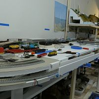 Overview of the layout area