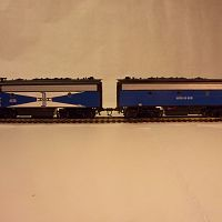 McGinnis AB F3 units Blue Box Athearn