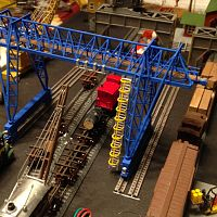 Overhead crane second model