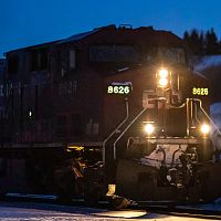 CP Manifest leaves Minot Yard