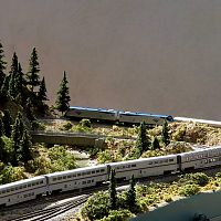 Amtrak 6 On Donner Pass