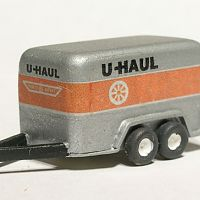 Older 12 x 6 U-Haul trailer