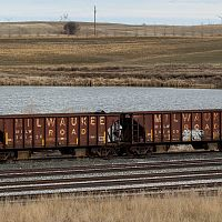 Milwaukee Road in Max