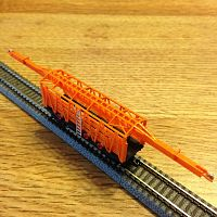 MOW Rail layer car