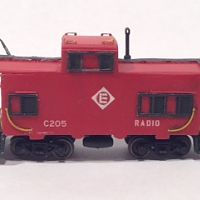 N Scale Erie Lackawanna  Dunmore Caboose