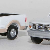 Atlas F-150 SuperCab Pickup with RPS F-250 Regular Cab Pickup