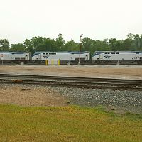 Amtrak 7 with 3 lead units