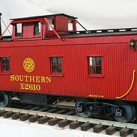 Southern Caboose used for the Atlantic and Danville