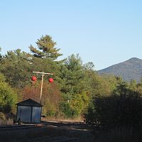 Surviving old fashioned ball signal in Whitefield NH.