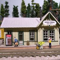 Bar Mills small depot - kit