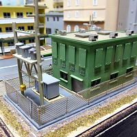 Electrical Substation - kit bash
