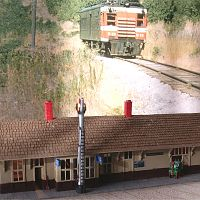 This is an NP First Class depot in Z Scale, modeled after Battle Lake MN.