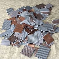 Large scrap corrugated sheet metal