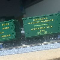 Latest freight cars