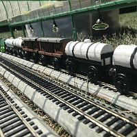 Northwestern Railroad Goods Working