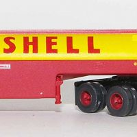 Trainworx 55018 Shell Peterbilt 350 Fuel Tanker