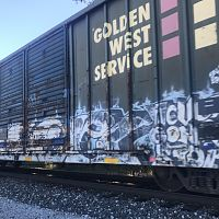 Goldenwest Service Boxcar