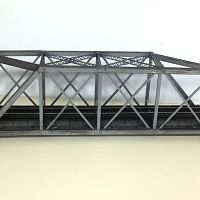 Skewed truss bridge - Mar 2020