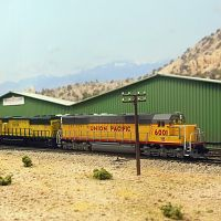 SD60s at Battle Mountain