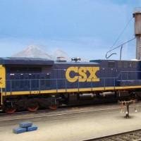 Chris Collins' CSX 5117 in Anson Yard.