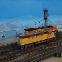 UP & BNSF at Sand Tower