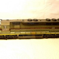 Kato CR (ex EL) SD45, weathered.