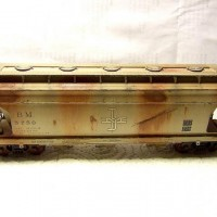 Atlas Trainman ACF 3560 Covered Hopper, weathered.