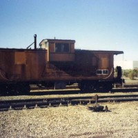 D&RGW wide vision caboose #01520 in Fremont, Ca.