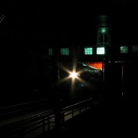 Night Departure From the Roundhouse