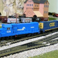 Atlas EMD GP15-1 Conrail, no CSX patch over.