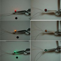 lit leds all colors; with and without faceplate