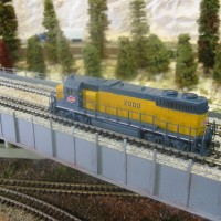 Custom Painted GP38