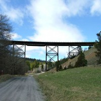 More views of Skyline trestle