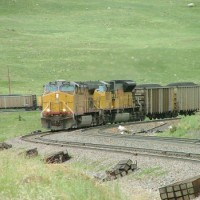 EB Coal loads downgrade at Rocky Siding
