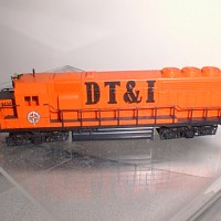 DT&I GP40 SIDE VIEW