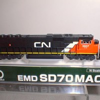 CUSTOM CN SD70 SIDE VIEW