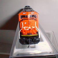 CUSTOM CN SD70 FRONT VIEW