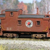Northern Pacific Caboose #1314