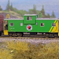 Northern Pacific Caboose #10417