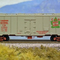 Canadian National Eight Hatch Reefer