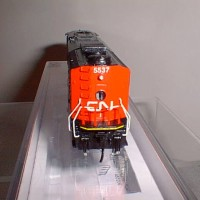 CUSTOM CN SD50 #5537 REAR VIEW