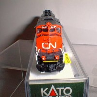 CUSTOM CN SD40-2 #5334 FRONT VIEW
