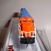 CUSTOM GT #5808 GP38 FRONT VIEW